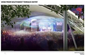 A rendering of the new Coney Island amphitheater.