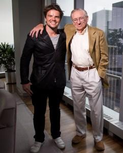 Bjarke Ingels (left) and Larry Silverstein (Michael Nagle, Commercial Observer).