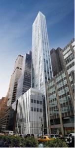 A Rendering of 100 East 53rd Street.