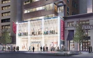 Rendering of retail to come at 111 East 59th Street.