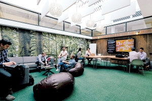 Companies such as WeWork have expanded in the last few years (Photo: Courtesy WeWork).