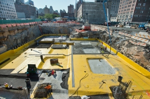 The new station will set below the Hudson Yards, which has seen its fair share of construction as of late (Photo: Courtesy Metropolitan Transportation Authority).