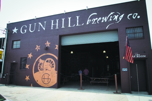 GUN CRAZY: In the 18 months it's been open, Gun Hill Brewing Company has become a huge hit.