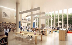 web hudson marvel 280cadman view03 David Kramer's Hudson Companies Is Making Waves in Brooklyn—Starting With a New Library