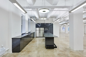 This pre-built office at 218 West 18th Street was leased before the paint was dry to an Internet firm (Photo: Montroy Andersen DeMarco).