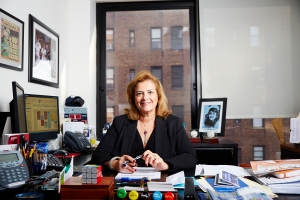 Jodi Pulice of JRT Realty Group has been working Long Island City for 15 years and is seeing the neighborhood shift. (Photo: Yvonne Albinowski for Commercial Observer).