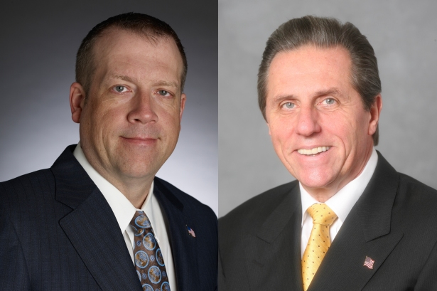John Zieran, Group Director and Senior Vice President; George Klett, Executive Vice President and Chairman of the Commercial Real Estate Committee.