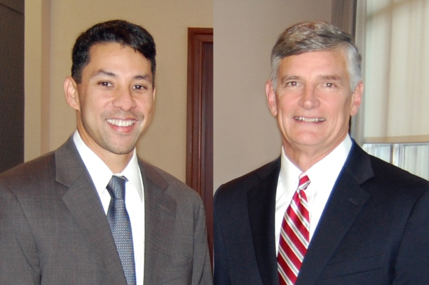Kirk Lloyd, Senior Vice President and Loan Originator; Daniel Harris, Executive Vice President and Chief Lending Officer.
