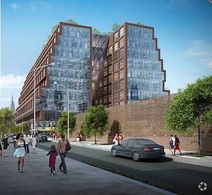 Rendering of 25 Kent Avenue (Photo: CoStar).