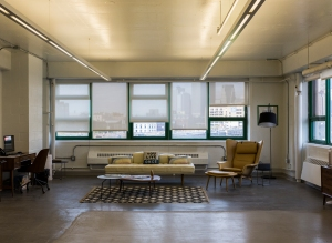 Smart Space offices at Dumbo Heights run from 800 to 6,000 square feet, depending on what a company's needs are (Photo: Sasha Maslov for Commercial Observer).