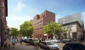 Rendering of 1041-1047 Fulton Street.