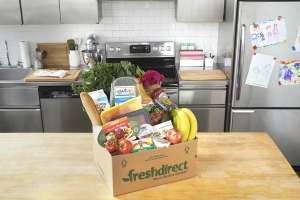 FreshDirect delivery. (Photo: FreshDirect)
