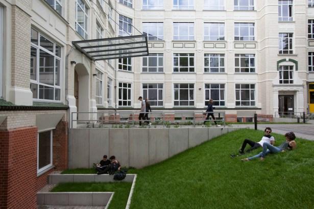 A rendering of G27 Global Institute in Berlin (Image: Macro Sea).
