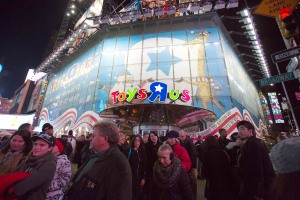 "Toys ""R"" Us' Times Square location (Photo: Andrew Kelly/Getty Images)."