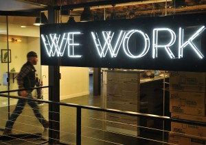 A WeWork office in Washington, D.C. (Photo: MANDEL NGAN/AFP/Getty Images).