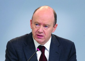 John Cryan, CEO of Deutsche Bank, (DANIEL ROLAND/AFP/Getty Images)