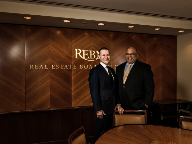Mr. Speyer counts bringing in Mr. Banks to head REBNY as a legacy item from his time chairing the organization (Photo: Sasha Maslov/for Commercial Observer).