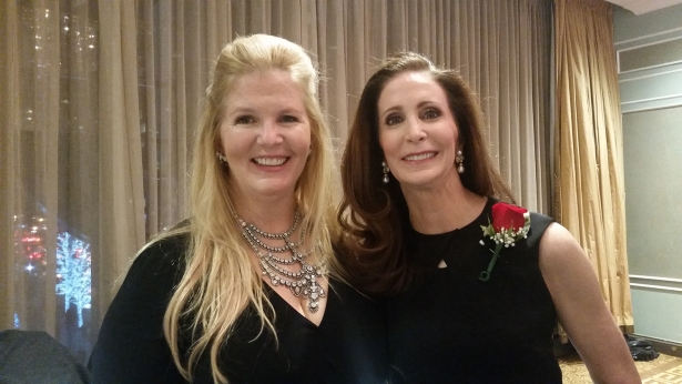 SISTER, SISTER: Darcy Stacom, left, and Tara Stacom at the 120th REBNY banquet (Photo by Lauren Schram/Commercial Observer).