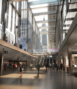 The new Penn Station will incorporate more light and will be easier to navigate (Photo: Governer Cuomo's Office/Flickr).