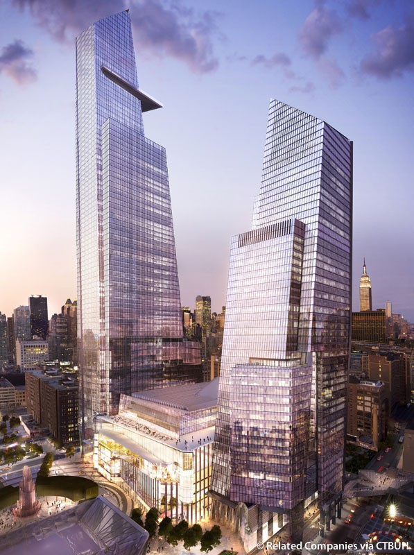 Bank of America led a $690 million construction loan for 30 Hudson Yards in December 2015.