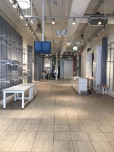 Inside what will become Journeys' new store at 42 West 14th Street.