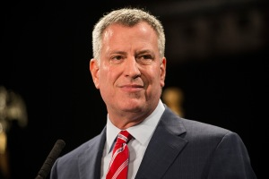 Bill de Blasio (Photo: Andrew Burton/Getty Images).