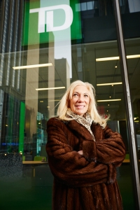 MAKING BANK: Ms. Podell exclusively represents TD Bank in Manhattan (Photo: Yvonne Albinowski/for Commercial Observer).