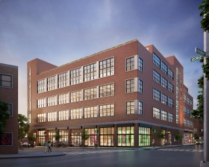 Exterior image of 95 Evergreen Avenue (Rendering: Savanna).