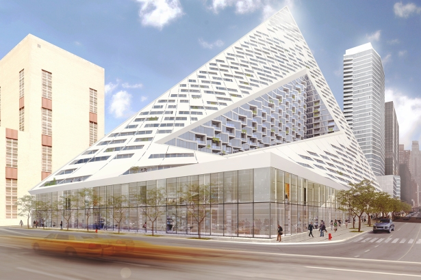 A rendering of VIA 57West (PHOTO: Courtesy CoStar).
