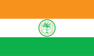 The flag of Miami.