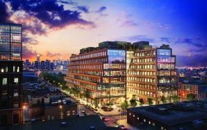 At 25 Kent Avenue, Heritage Equity Partners and Rubenstein Partners are providing tenants with collaborative space.