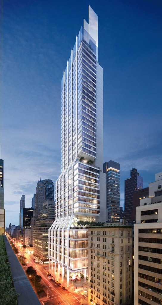 L&L Holding Company is making 425 Park Avenue what it's billed the first new block front building on Park Avenue in 50 years.