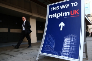Since joining Reed MIDEM, Mr. Rean has established and organize MIPIM UK, which he says is now the largest real estate trade show in Great Britain (Photo: Carl Court/Getty Images).