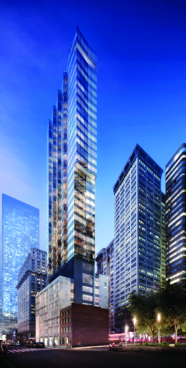 A 25,000-square-foot space is on the market at Vanbarton Group's 160 Water Street could help answer FiDi's wanting (but steadily improving) retail needs.