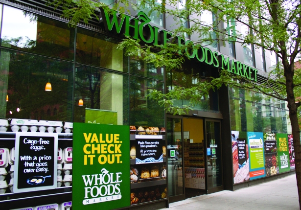 MAKING US WHOLE AGAIN: Whole Foods in Tribeca is FiDi's main grocery store.