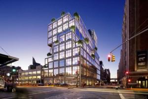 Rendering of 61 Ninth Avenue.