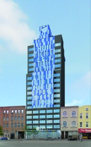 The Aloft Hotel at 27-45 Jackson Avenue (Rendering: Gene Kaufman Architect).