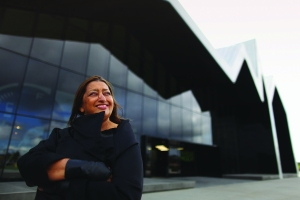 Zaha Hadid. (Photo by Jeff J Mitchell/Getty Images)