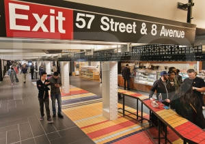TurnStyle, the underground shopping concourse, has a mix of national and local tenants (Photo: Metropolitan Transportation Authority/Patrick Cashin).