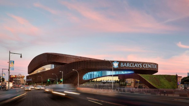 The current footprint of the Barclays Center was once considered for a new Brooklyn Dodger ballpark (Photo: nycmayorsoffice/flickr).