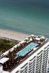1 Hotel in South Beach, Florida. (Photo by Doug Benc/Getty Images for Sony Ericsson)