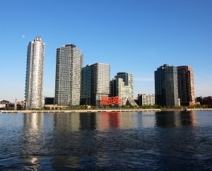 TF Cornerstone's Queens waterfront buildings in Long Island City (Photo: TF Cornerstone).