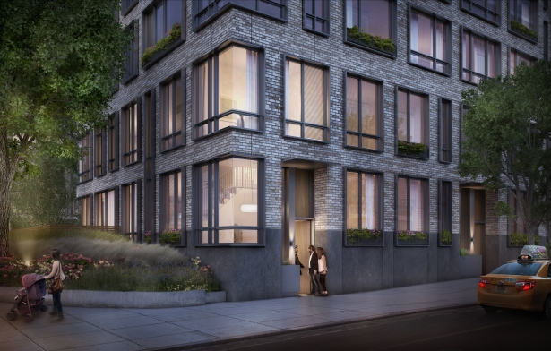 A rendering of one of three maisonettes (Courtesy of VUW Architects).