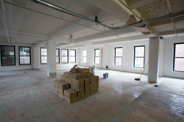 The fourth floor at 3 East 28th Street (Photo: Aaron Adler/for Commercial Observer).
