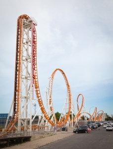Thunderbolt Rollercoaster at Coney Island (Photo: Kaitlyn Flannagan/ For Commercial Observer.)