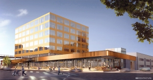 Cammeby's International's 626 Sheepshead Bay Road rendering (Rendering: S9 Architecture).