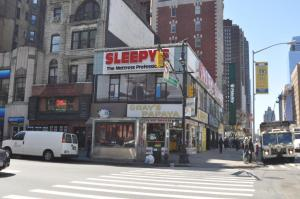 The Gray's Papaya at 2090 Broadway.