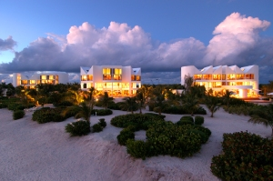 The villas in Anguilla (Photo: Time Equities).