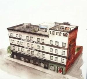 Gowanus Inn & Yard is going up at 645 Union Street