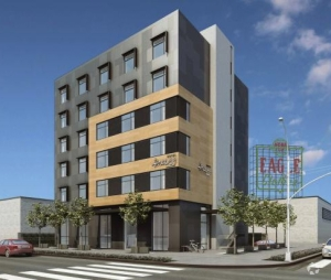 Globiwest Hospitality is developing the empty lot at 399 Third Avenue